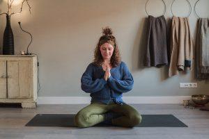Proefles Yogaschool UP to You in het Westland, De Lier